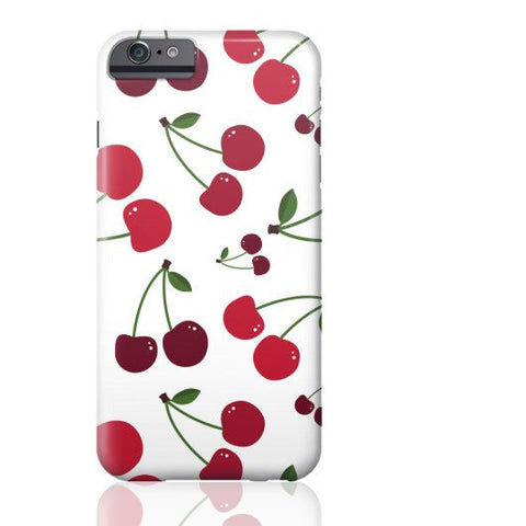 White Cherry Phone Case - iPhone 6/6s - Cinderbloq Cases & Accessories