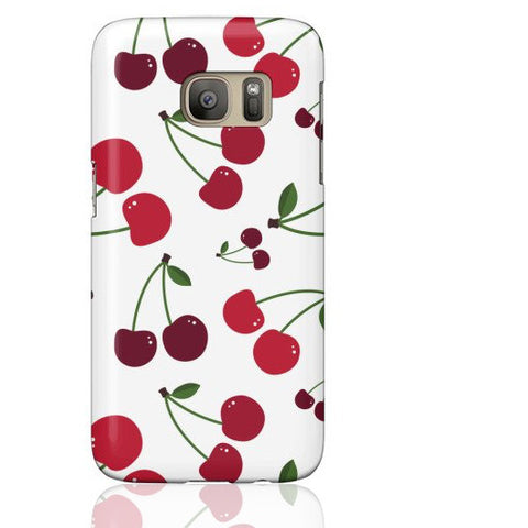 White Cherry Phone Case - Samsung Galaxy S7 - Cinderbloq Cases & Accessories