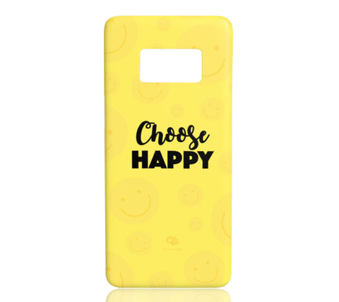 Choose Happy - Samsung Galaxy S8 - CinderBloq Cases & Accessories