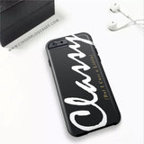 Classy But I Cuss A Little Phone Case - iPhone 6 Plus / 6s Plus - Cinderbloq Cases & Accessories