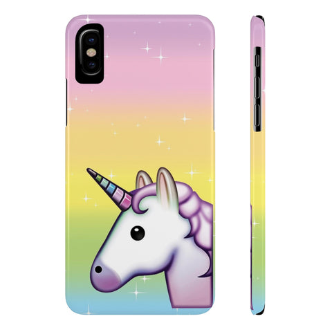 Rainbow Unicorn - New - Slim
