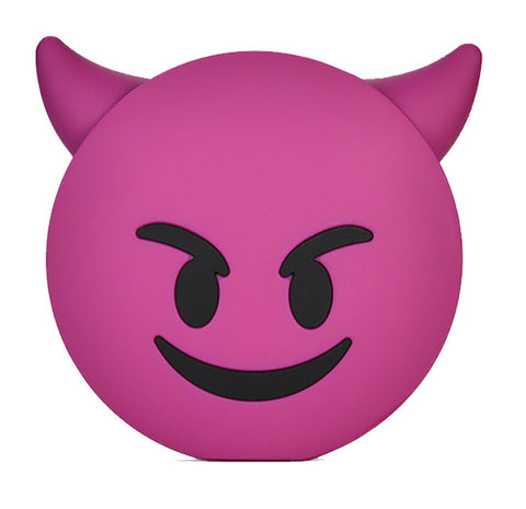 Scheming Devil Emoji Powerbank charger for iOS & Android - Cinderbloq Cases & Accessories