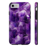 Amethyst Stone Marble Phone Case - CinderBloq Cases & Accessories