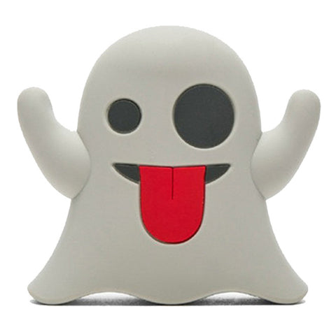 Boo! Ghost Emoji Powerbank charger for iOS & Android - Cinderbloq Cases & Accessories