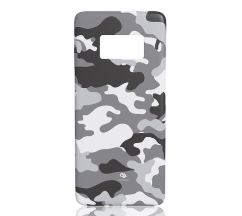 Grey Camo - Samsung Galaxy S8 - CinderBloq Cases & Accessories