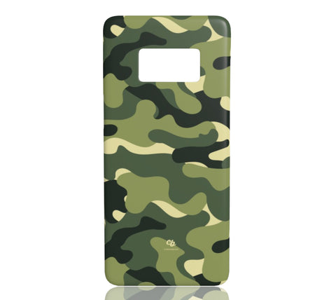 Green Camo - Samsung Galaxy S8 - CinderBloq Cases & Accessories