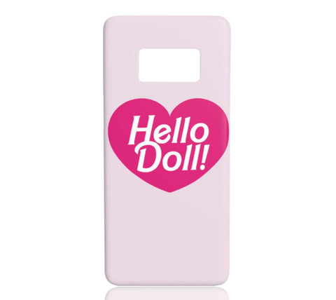 Hello Doll - Samsung Galaxy S8 - CinderBloq Cases & Accessories