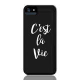 C'est La Vie Phone Case - iPhone 5/5s/5se - CinderBloq Cases & Accessories