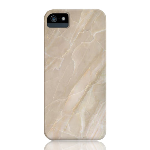 Beige Stone Marble Phone Case - iPhone 5/5s/5se - CinderBloq Cases & Accessories