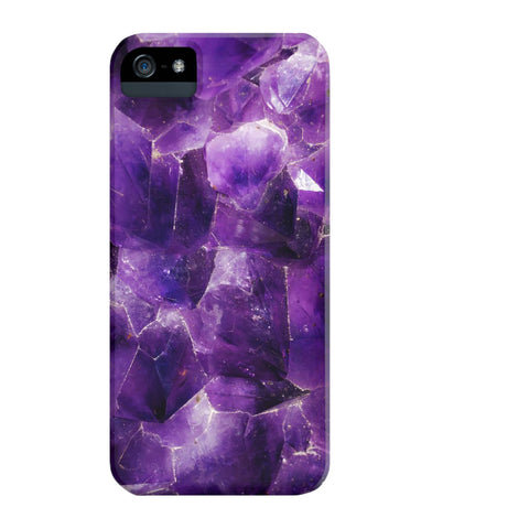 Amethyst Stone Phone Case - iPhone 5/5s/5se - CinderBloq Cases & Accessories