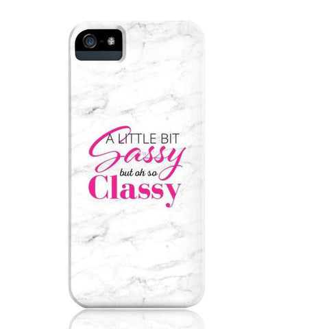 Sassy but Classy Granite Marble Phone Case - iPhone 5/5s/5se - Cinderbloq Cases & Accessories