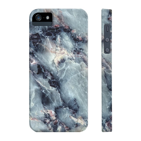 Blue Pearl Marble Phone Case - iPhone 5/5s/5se - CinderBloq Cases & Accessories