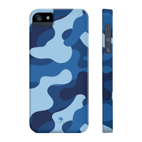 Blue Camo Phone Case - iPhone 5/5s/5se - CinderBloq Cases & Accessories