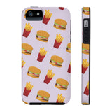 Burger Fries Phone Case - iPhone 5/5s/5se