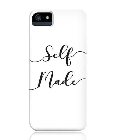 Self Made (White) Phone Case - iPhone 5/5s/5se - Cinderbloq Cases & Accessories