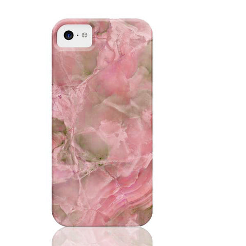 Pink Jade Marble Phone Case - iPhone 5c