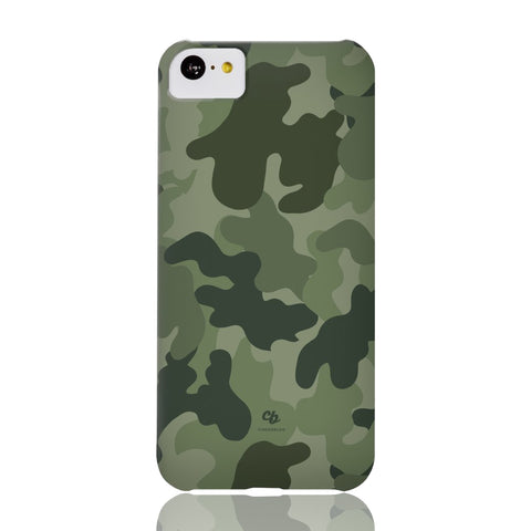 Army Green Camo Phone Case - iPhone 5c - CinderBloq Cases & Accessories