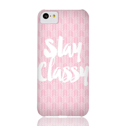 Stay Classy Phone Case - iPhone 5c - CinderBloq Cases & Accessories