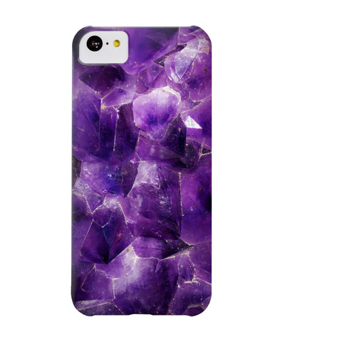 Amethyst Stone Phone Case - iPhone 5c - CinderBloq Cases & Accessories