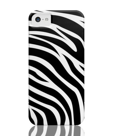 Zebra Print Case - iPhone 5c - Cinderbloq Cases & Accessories
