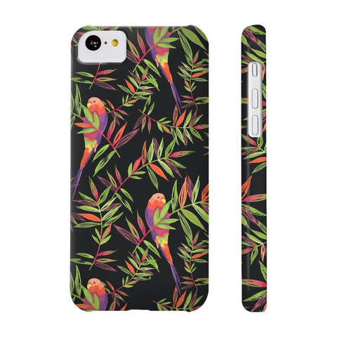 Tropical Parrot Phone Case - iPhone 5c - CinderBloq Cases & Accessories