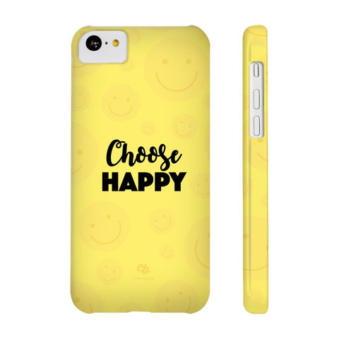 Choose Happy Phone Case - iPhone 5c - CinderBloq Cases & Accessories