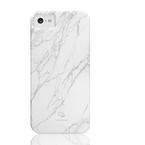 White Stone Marble Phone cases - iPhone 5c