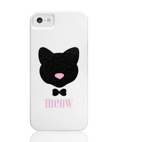 Meow! Glitter Cat Phone Case - iPhone 5c - Cinderbloq Cases & Accessories