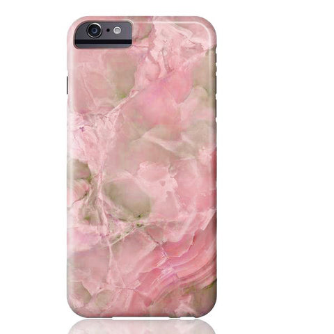 Pink Jade Marble Phone Case - iPhone 6/6s