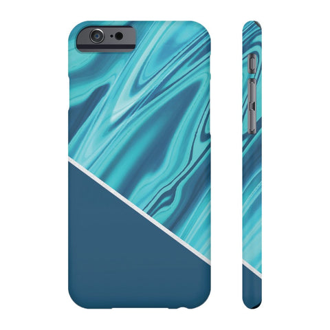 Ocean Blue Marble Phone Case - iPhone 6/6s - CinderBloq Cases & Accessories