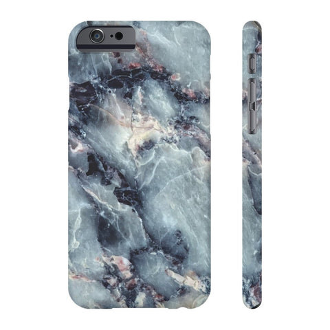 Blue Pearl Marble Phone Case - iPhone 6/6s - CinderBloq Cases & Accessories