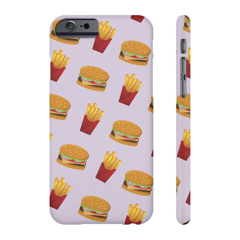 Burger Fries Phone Case - iPhone 6/6s - CinderBloq Cases & Accessories