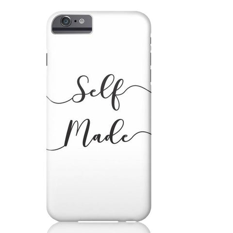 Self Made (White) Phone Case - iPhone 6/6s - Cinderbloq Cases & Accessories