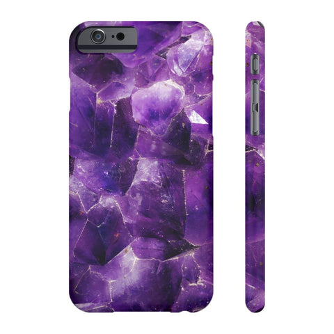 Amethyst Stone Phone Case - iPhone 6/6s