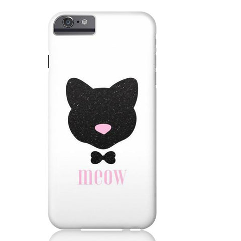 Meow! Glitter Cat Phone Case - iPhone 6/6s - Cinderbloq Cases & Accessories