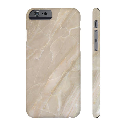 Beige Stone Marble Phone Case - iPhone 6/6s - CinderBloq Cases & Accessories