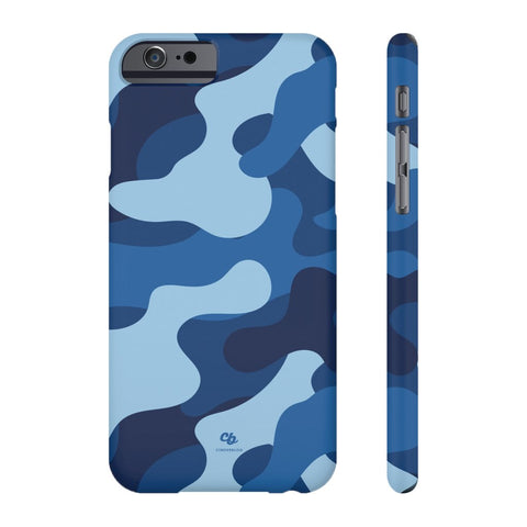 Blue Camo Phone Case - iPhone 6/6s - CinderBloq Cases & Accessories