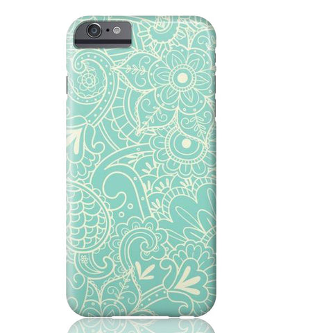 Paisley Print in Teal Phone Case - iPhone 6/6s - Cinderbloq Cases
