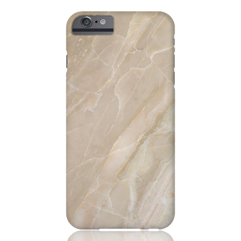 Beige Stone Marble Phone Case - iPhone 6 Plus / 6s Plus - CinderBloq Cases & Accessories
