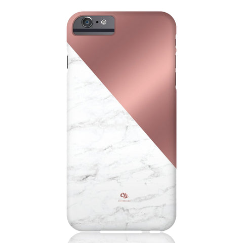Rose Gold & Marble Phone Case - iPhone 6/6s