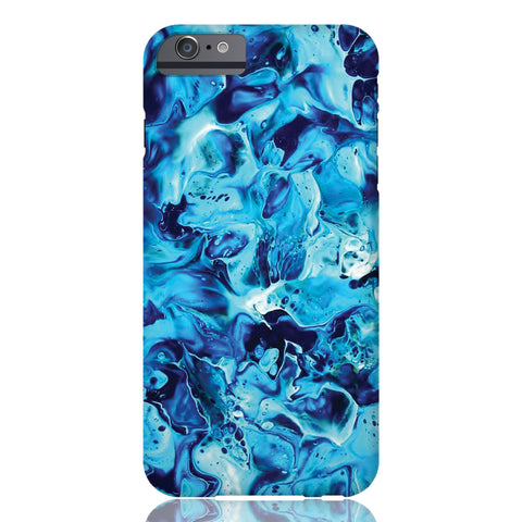 Electric Blue Marble Phone Case - iPhone 6 Plus / 6s Plus