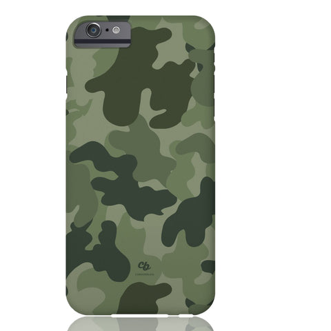 Army Green Camo Phone Case - iPhone 6/6s - CinderBloq Cases & Accessories