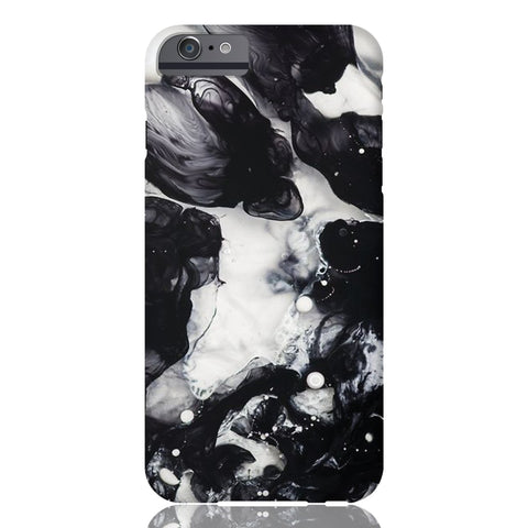 Black & White Cloud Marble Phone Case - iPhone 6/6s - CinderBloq Cases & Accessories