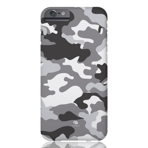 Grey Camo Phone Case - iPhone 6/6s - CinderBloq Cases & Accessories