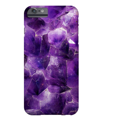 Amethyst Stone Phone Case - iPhone 6/6s - CinderBloq Cases & Accessories