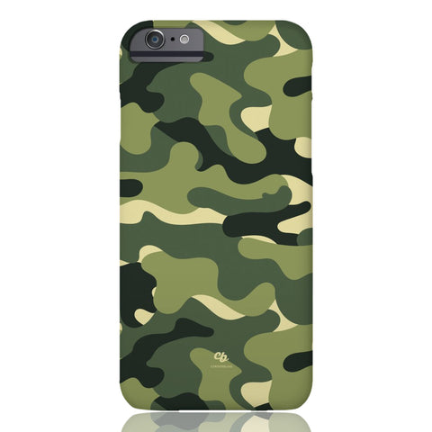 Green Camo Phone Case - iPhone 6/6s - CinderBloq Cases & Accessories
