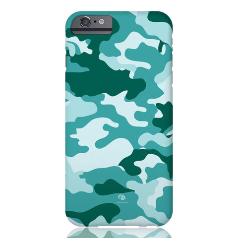 Teal Camo Phone Case - iPhone 6/6s - CinderBloq Cases & Accessories