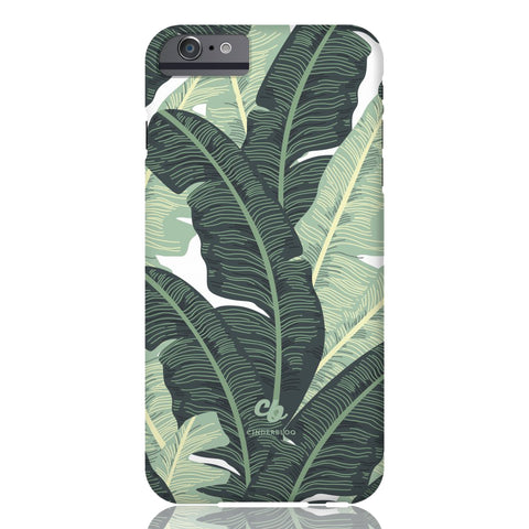 Tropical Banana Leaves Phone Case - iPhone 6 Plus / 6s Plus - CinderBloq Cases & Accessories