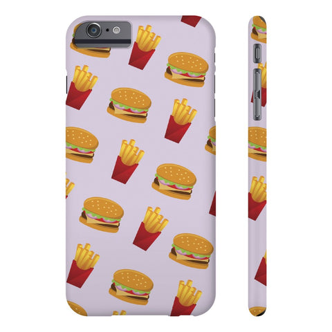 Burger Fries Phone Case - iPhone 6 Plus / 6s Plus - CinderBloq Cases & Accessories