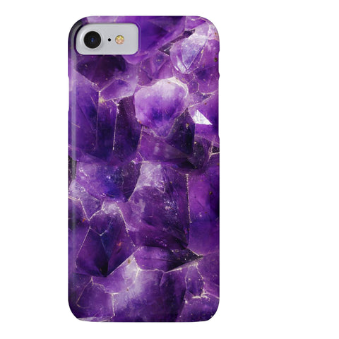 Amethyst Stone Phone Case - iPhone 7, iPhone 8